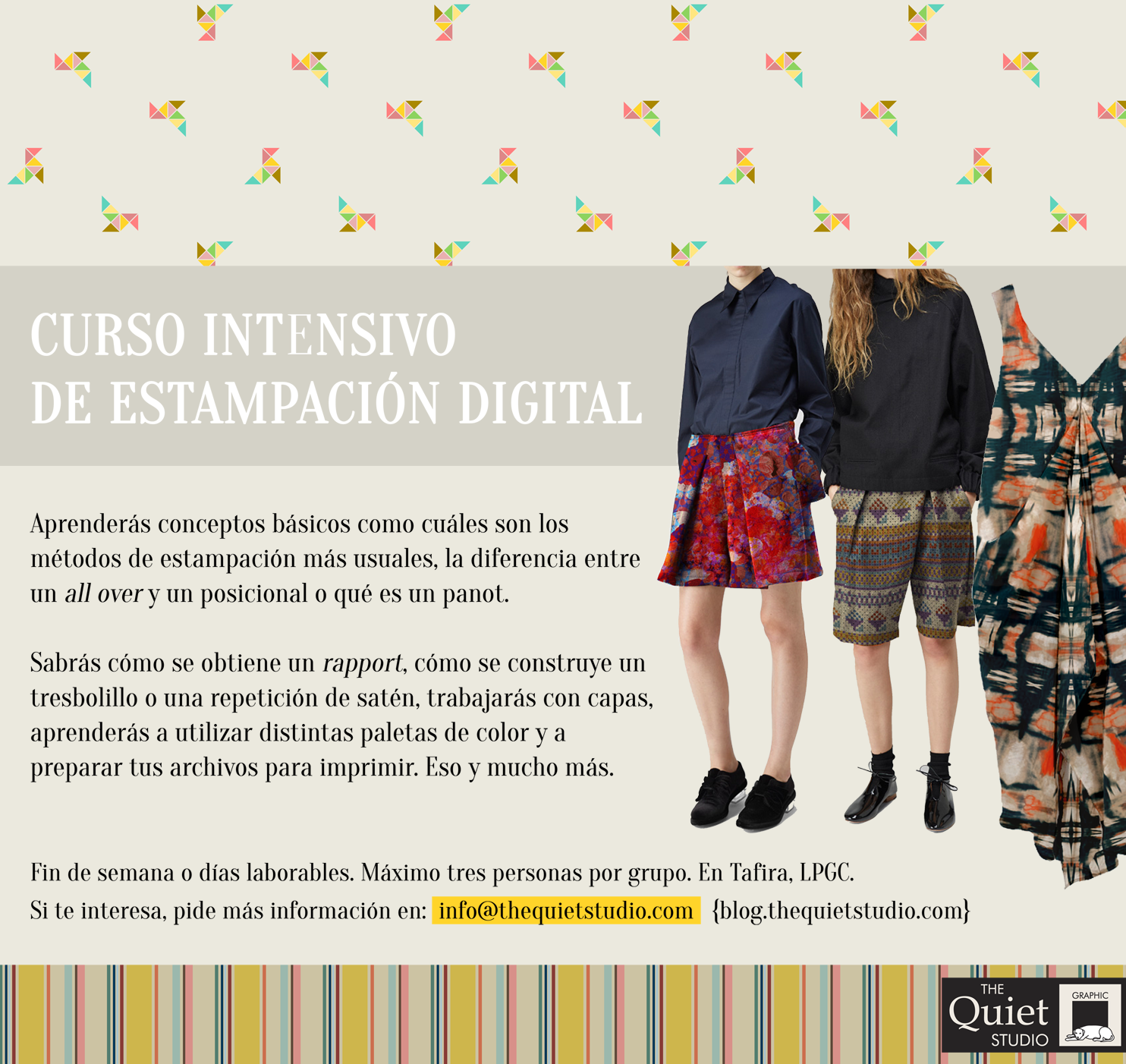 Curso intensivo de estampación digital
